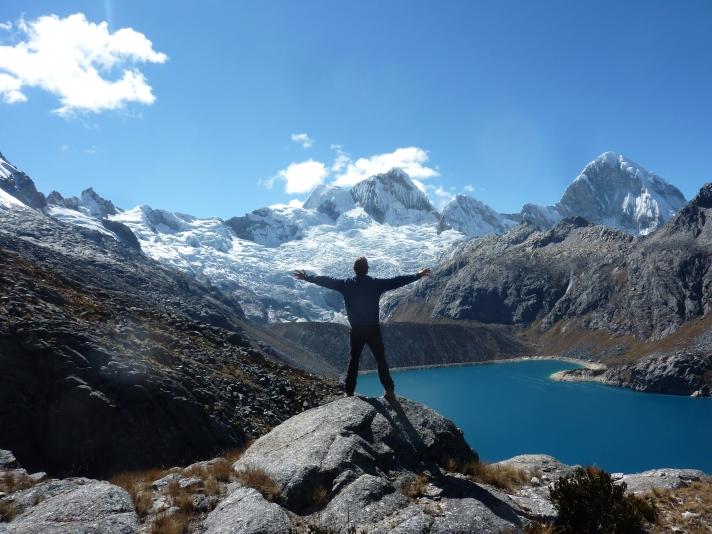view over santa cruz mountains